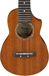 Ibanez, 4-String Ukulele, Right, Open Pore Natural (UEW5S)