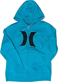 Hurley 男孩 Therma-Fit 连帽衫 Dusty Cactus 大码(12-13 岁)