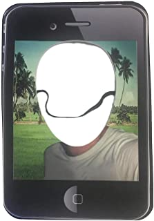 Sweet Selfie Halloween Costume Mask Cellphone