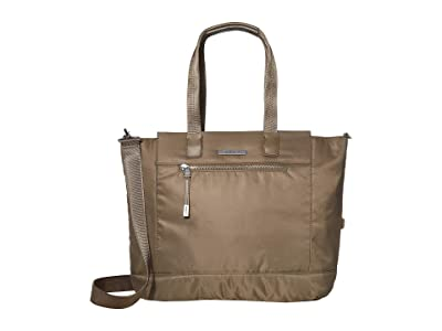 Hedgren Glaze RFID Large Tote (Capers) Tote Handbags