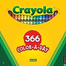 Crayola 2020 Wall Calendar: 366 Crayon Colors