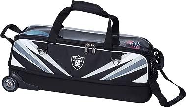 Raiders Slim Triple Tote Bowling Bag