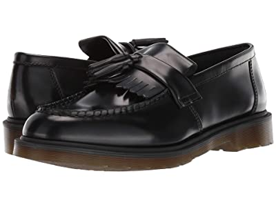 Dr. Martens Adrian Core (Black Polished Smooth) Shoes