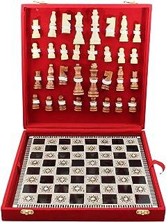 شطرنج خشب وسط