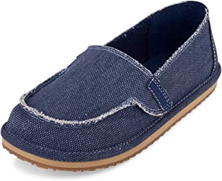 The Children's Place Kids' Canvas Deck Boat Shoe Loafer