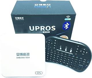 BAIPU Unblcok Tech TV Box 2019 Latest Unblock Tech Gen 7 Upros Ubox i9 2G RAM 32G ROM 802.11ac 5G WIFI Jailbreak Version TV Box Gift Set