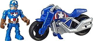 Playskool SHA Captain America and Moto Toy