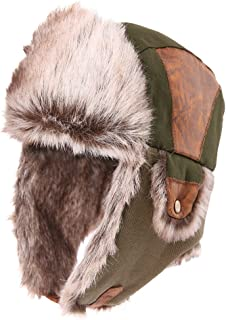 Mix Colours Chaos Brothers Classic US Style Plaid Trapper Hats