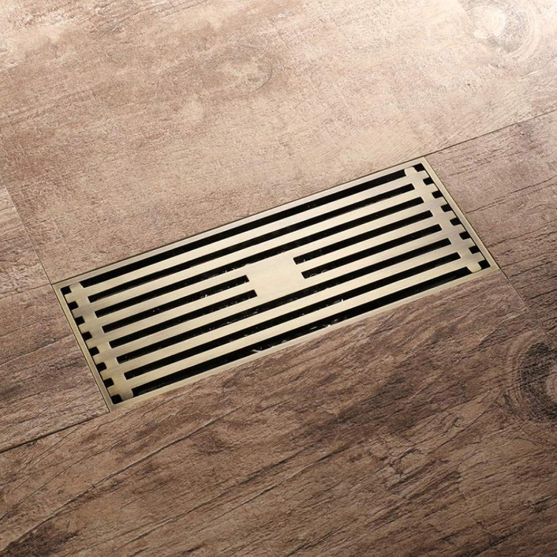 Ayhuir Drain 8.2  20 cm Euro Antique Brass Art Carved Floor Drain Cover Shower Waste Drain Bathroom Bath Accessories