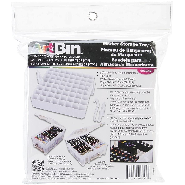 ArtBin Marker Storage Tray-White, 6939AB