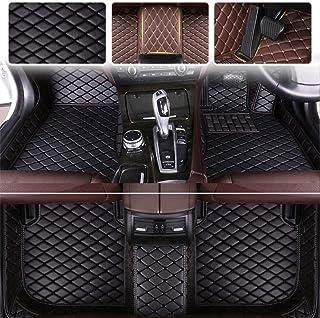 Custom Car Floor Mats for VW Volkswagen Amarok Canyon Aventura 2010-2018 Luxury Leather Waterproof Anti-Skid Full Coverage...