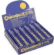 Chicago Blues Harmonica, KHCB-6C, Mini Party Pack of 6, 10 Hole Harps - Key of C