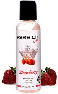 Strawberry Flavored Lubricant 2oz