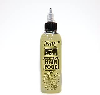 Natty Jojoba Oil Hair Food 4oz [SEALED]