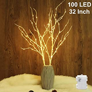 Best led white birch branches Reviews