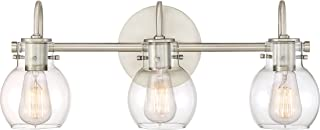 Quoizel ANW8603AN Andrews Vanity Bath Lighting, 3-Light, 300 Watts, Antique Nickel (9