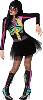 comprar comparacion Atosa 23421 Disfraz esqueleto multicolor adulto XS-S, talla mujer
