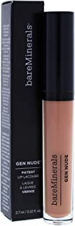 bareMinerals Gen Nude Patent Lip Lacquer Yaaas for Women, 0.12 Ounce