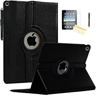JYtrend Case for 2019 iPad 10.2 inch, for iPad 7th Generation, Rotating Stand Smart Magnetic Auto Wake Up/Sleep Cover for Model A2197 A2200 A2198 A2199 MW792LL/A MW742LL/A MW772LL/A (Black)