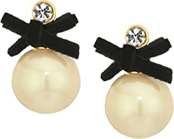Kate Spade New York - Girls In Pearls Drop Stud Earrings