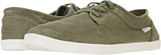 Sanuk Women's Pair O Dice Lace Sneaker, Military Green
