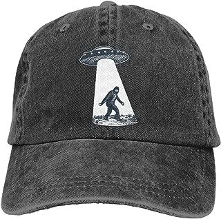 UFO Bigfoot Vintage Unisex Adjustable Trucker Cap for Adult