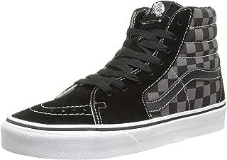 Vans SK8-Hi Black Pewter Unisex Skate Shoes Men/Women Checkers (5.5 D(M) US)