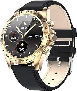 JessFash Deporte Reloj Inteligente Actividad Rastreador de Ejercicios Monitor de Ritmo cardíaco y sueño Calorías Reloj Contador de Pasos Pantalla táctil a Color Reloj podómetro Impermeable