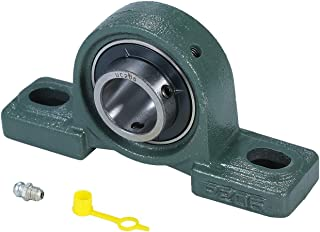 5 pi/èces KFL002 1 Jeu de Bloc de roulement en Alliage daluminium de Zinc /à alignement Automatique pour la s/érie KFL de Machines Yanmis Roulement de Bloc doreiller