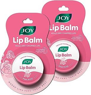 Joy Pink Rose Lip Balm | Heals Dry Chapped Lips | Rose Flavor | Deep Nourishing, Soft, Smooth, Healthy & Advanced Moisturi...