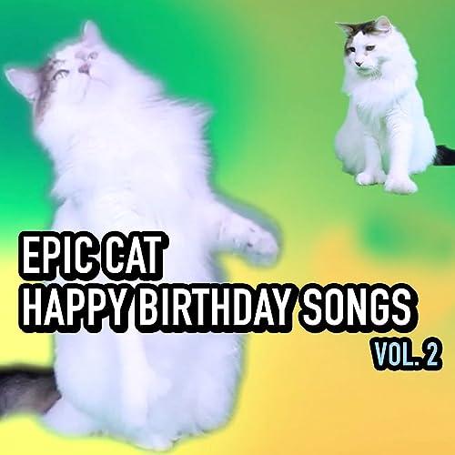 Happy Birthday Emma The Cat Version