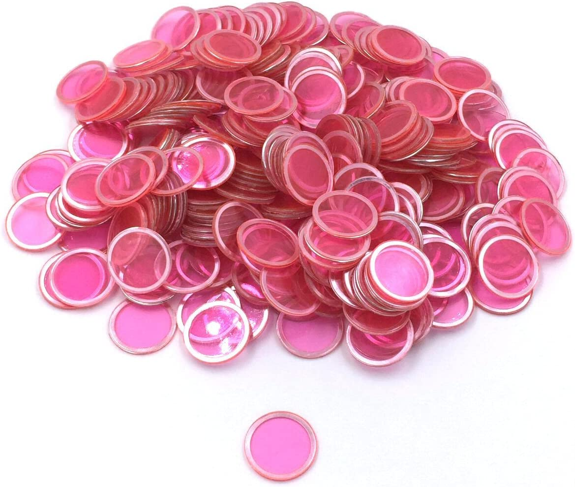 Tapp Collections Bingo Transparent Chips 300-pk