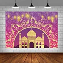 Arabian Moroccan Nights Theme Backdrop Aladdin Magic Genie Photography Background 5x3ft Sweet Birthday Baby Shower Party Decorations for Girls Photo Booth Props