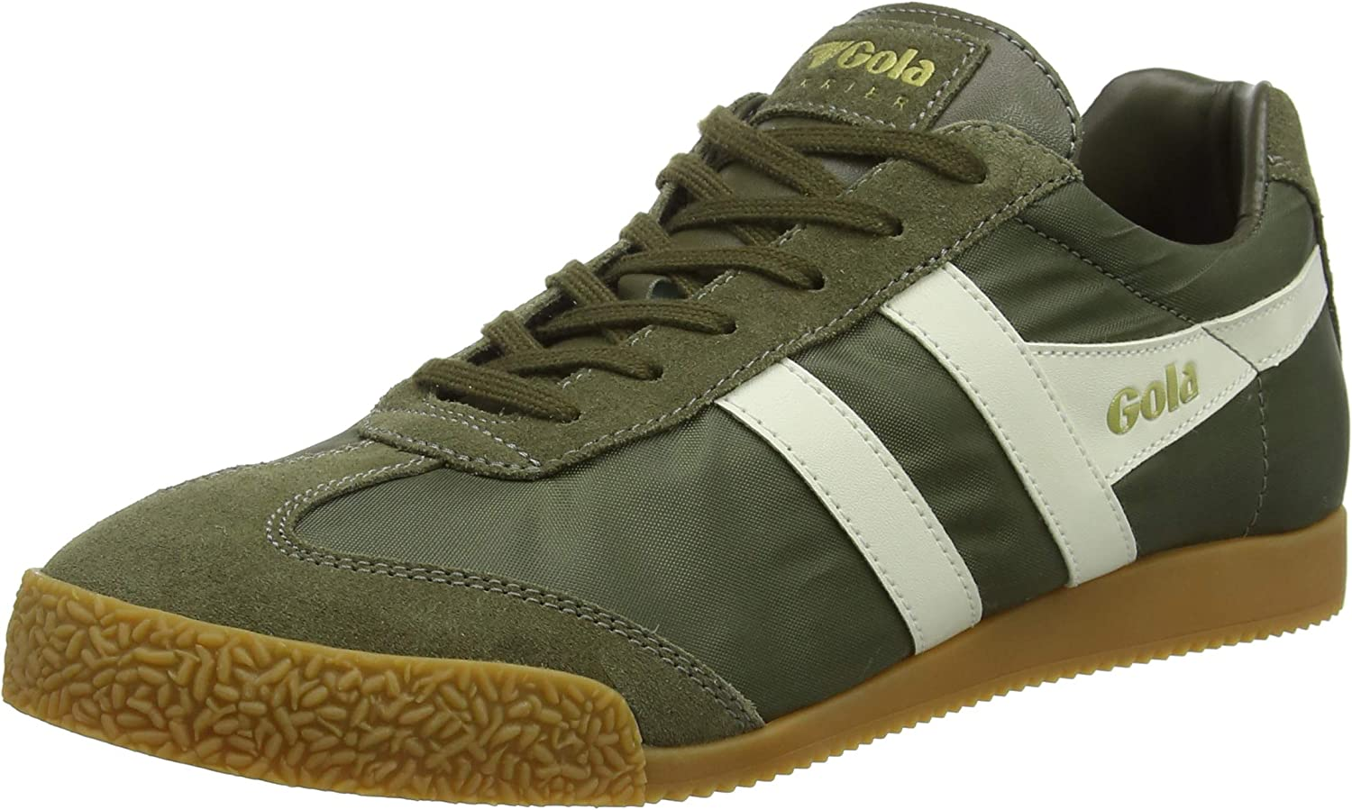 Gola Mens Harrier Nylon Suede Trainers