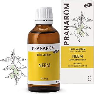 Pranarôm | Huile Végétale Neem Bio | Azadirachta indica - Vierge de première pression à froid | 50 ml