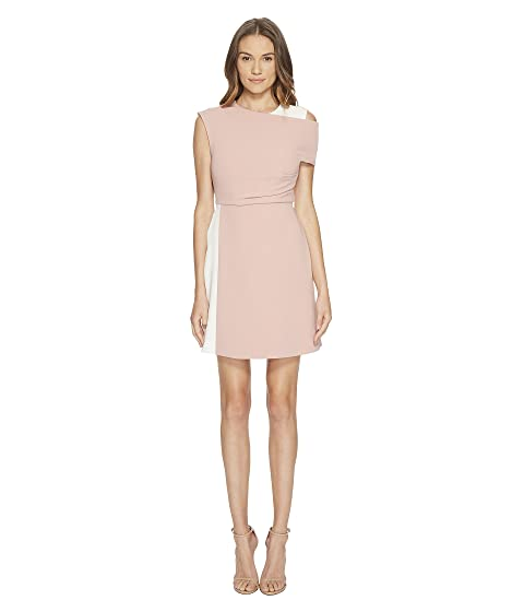 Sportmax Dalmata Cold Shoulder Dress