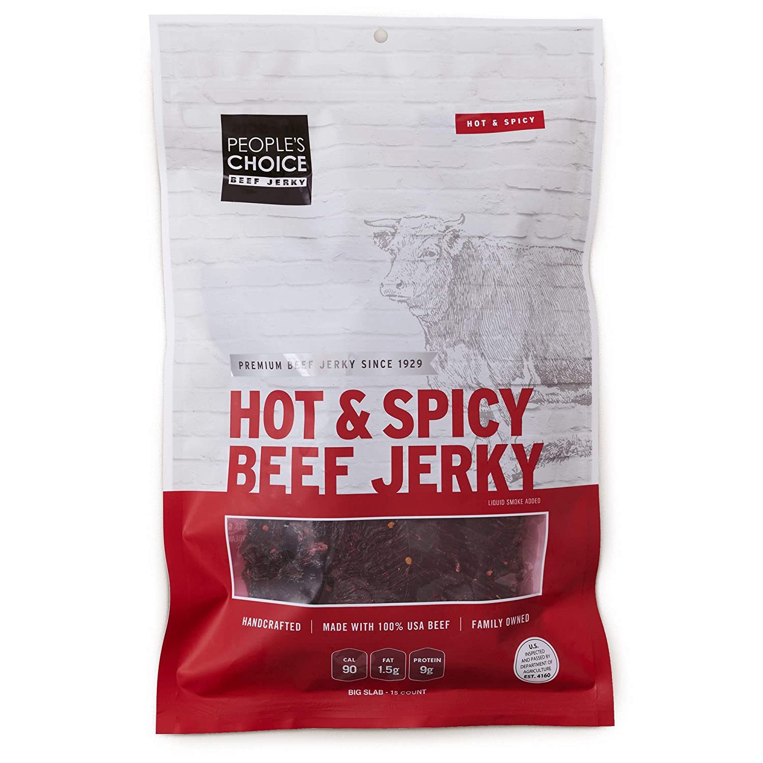 People's Max 70% OFF Choice Beef Jerky - Slab New life Big Classic Spicy Hot