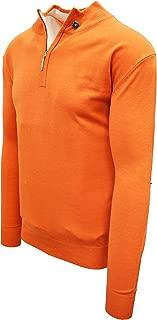 STACY ADAMS Men's Sweater Solid Mock