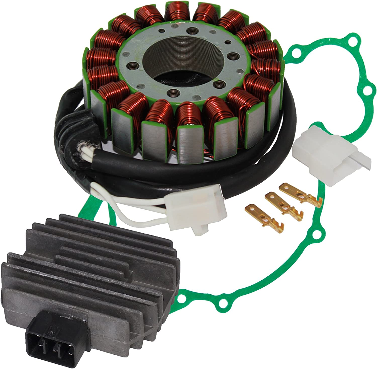 Caltric Over item handling Stator Regulator Compatible Xv-17 Yamaha with Xv1700At Gifts