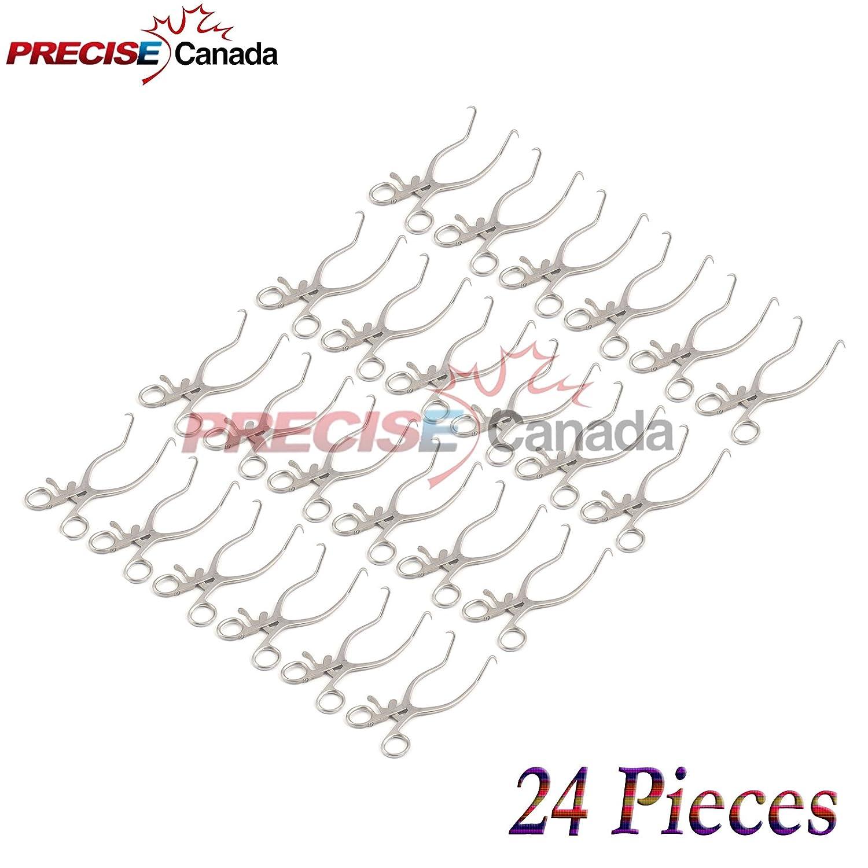 "PRECISE CANADA: SET OF 24 STAI 7.5"" RETRACTORS discount CURVED Bargain sale GELPI"