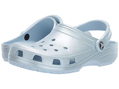 Crocs Classic Metallic Clog (Metallic Mineral Blue) Shoes