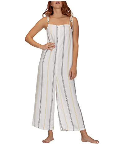 Hurley Sunday Jumpsuit (White) Women