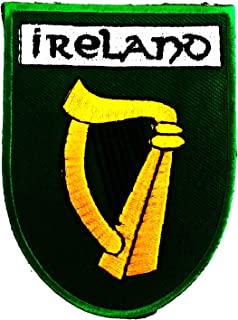 Ireland Flag This Country is Republic of Ireland 2.5X3.5 in MEGADEE Patch Cartoon Kids Symbol DIY Iron on Patch Iron-On De...