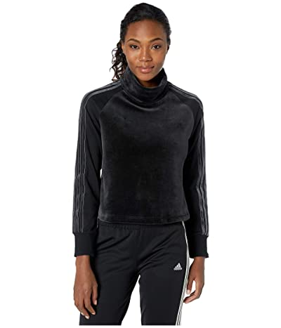 adidas Sport ID Long Sleeve Tee (Black) Women