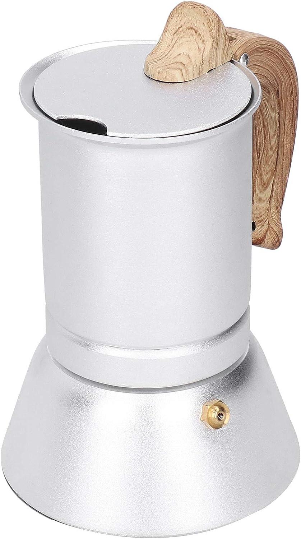 Demeras Coffee Maker Pots Aluminum Our shop OFFers the best service Pot Alloy Inducti Topics on TV Moka
