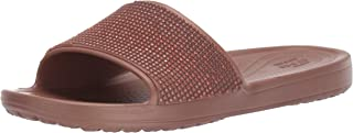 Crocs Women's Sloane Ombre Diamante Slide Sandal