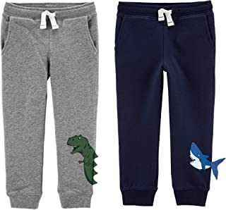 Carter's Toddler Boys 2 Pack French Terry Active Jogger Pants