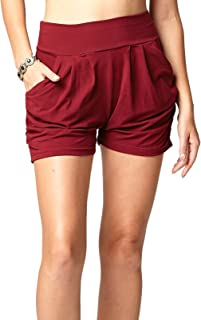 Conceited Premium Ultra Soft Harem Shorts - Pockets - 40...