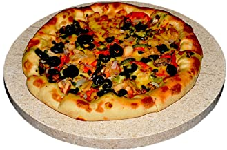Hand_Craft Pizza Natural stone 33cm Dia 2cm thick 100% natural material