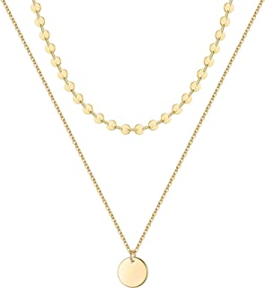 Simple Single Silver-Plated Chain Charm Simulated Pearl Necklace Long Sweater Chain Necklace For Women